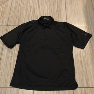 NIKE fit dry men's golf shirt medium EUC